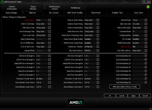AMD OverDrive – AMD官方推出的超頻工具 多語言版 支援Win7